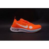 Nike Zoom Fly Off White Mercurial Flyknit Orange