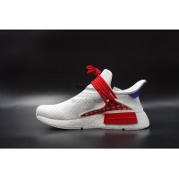 Pharrell Williams x NMD Human Race All White