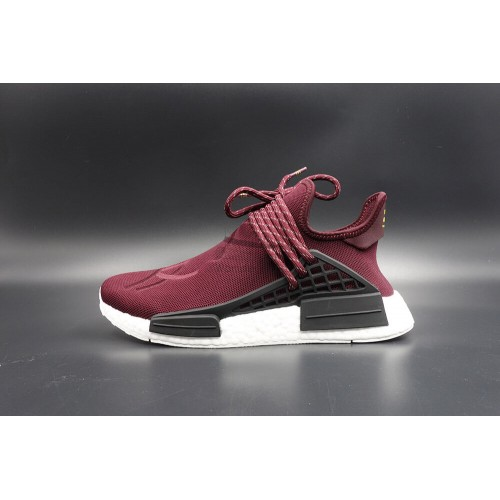 Pharrell Williams x NMD Human Race Friends and Family Burgundy