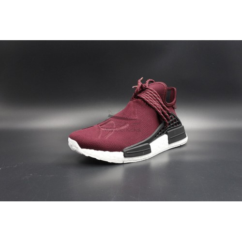 be5790c12352d Buy Best Quality UA NMD Human Race Friends and Family Burgundy ...