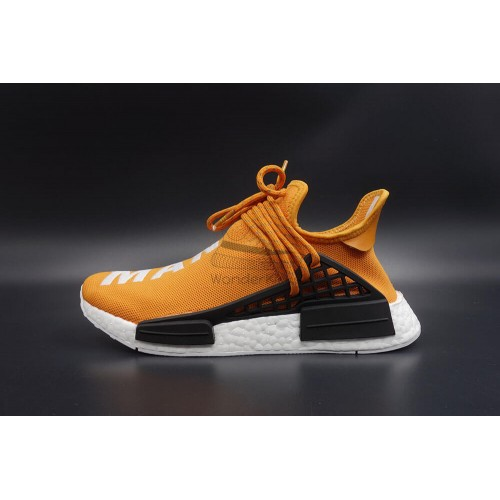 "Pharrell Williams x NMD Human Race ""Hue Man"" Tangerine"