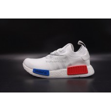 NMD R1 PK White Red Blue
