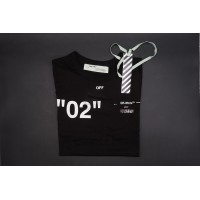 Off White For All 02 Black Tee