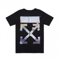 Off White Multicolor Arrows T shirt Black
