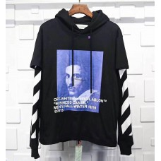 Off White Bernini Hoodie Black