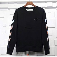 Off White Black Diag Arrows Sweatshirt