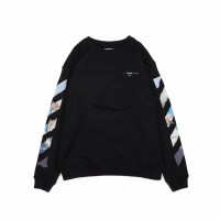 Off White Diag Arrows Sweatshirt Black