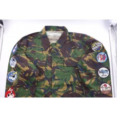 Off White Camo Patches Cargo Jacket