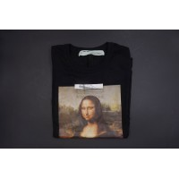 Off White Monalisa Black Tee