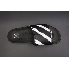 Off White Spray Slides