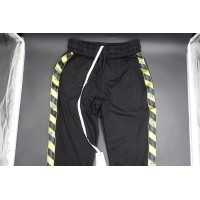 Off White Fireline Sweatpants Black