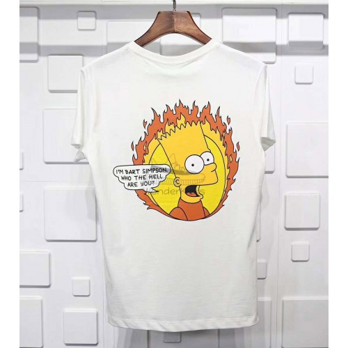 Off White BART Flamed Tee