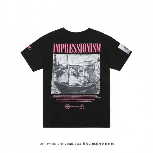 Off White Boat Tee Black