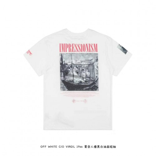 Off White Boat Tee White