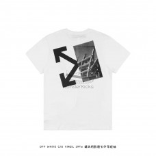Off White Splitted Arrows T shirt White