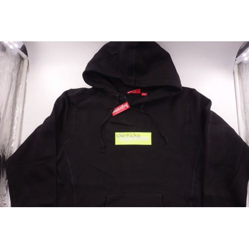 Supreme Box Logo FW17 Hooded Sweatshirt Black
