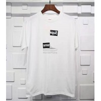 Supreme CDG Split Box Logo Tee White