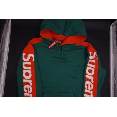 Supreme Sideline Hooded Sweatshirt Light Pine