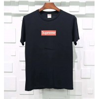 Supreme Box Logo Tee Black Red
