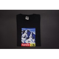 Supreme The North Face Mountain Tee Black