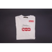 Supreme Louis Box Logo Tee White