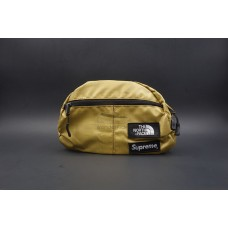 Supreme The North Face Metallic Waistbag Gold