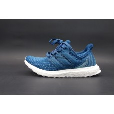 UltraBoost x Parley Intense Blue