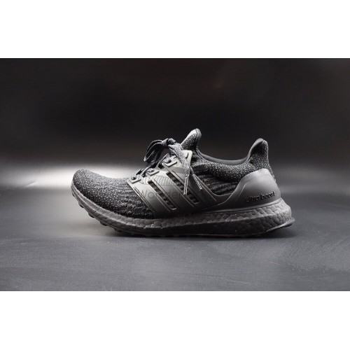aae98a63d Buy Best Quality UA UltraBoost 3.0 Triple Black Running Shoes Online ...