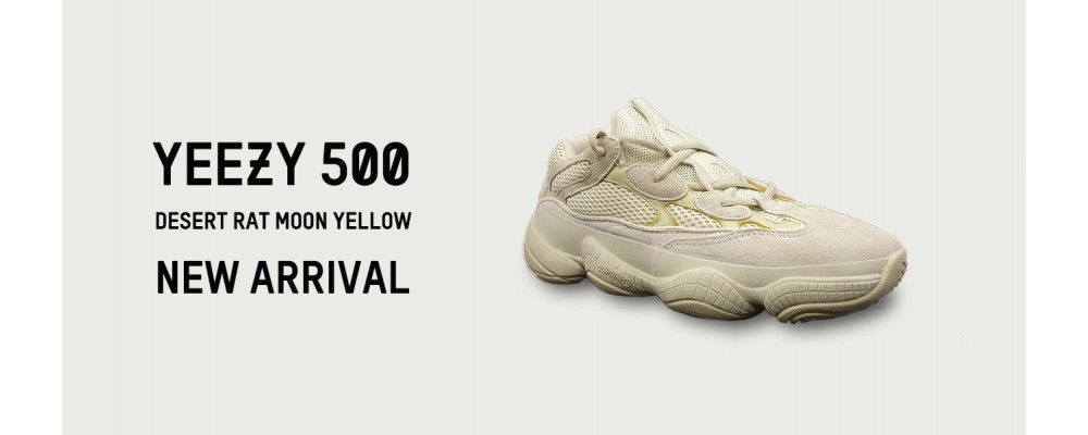 more photos 820d5 36334 Best Version UA Yeezy 500 Desert Rat Moon Yellow On Sale at ...