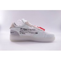 UA Air Force 1 Low Off White Virgil