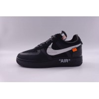 Nike Air Force 1 Low Off White In Black