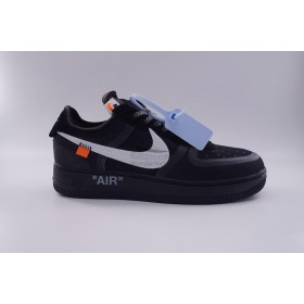 UA Air Force 1 Low Off White In Black