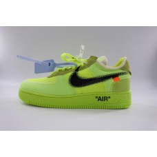 UA Air Force 1 Low Off White Volt