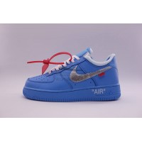 UA Air Force 1 Low Off White MCA UNC Blue