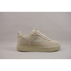 UA Air Force 1 Low Stussy Fossil