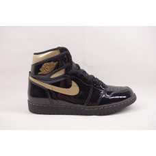UA Air Jordan 1 Retro High Black Metallic Gold (2020)