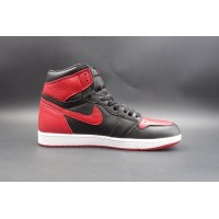 "UA Air Jordan 1 Retro High OG Bred ""Banned"""