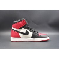 UA Air Jordan 1 Retro High Bred Toe