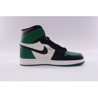 UA Air Jordan 1 Retro High Pine Green