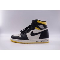 "UA Air Jordan 1 Retro High ""Not for Resale"" Varsity Maize"