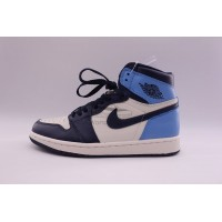 UA Air Jordan 1 Retro High Obsidian UNC