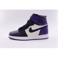 UA Air Jordan 1 Retro High Court Purple