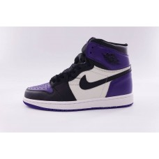 UA Air Jordan 1 Retro High Court Purple