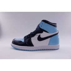 UA Air Jordan 1 Retro High UNC Patent