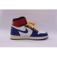 UA Air Jordan 1 Retro High Union Los Angeles Blue Toe