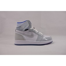 UA Air Jordan 1 Retro High Zoom White Racer Blue