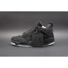Air Jordan 4 Retro KAWS Black