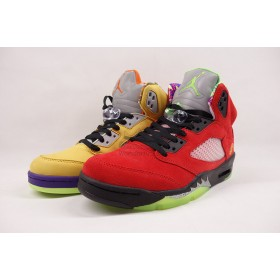 UA Air Jordan 5 Retro What The