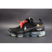 UA Air Vapormax FK Off White in Black