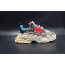 UA BC Triple S Trainer Grey Red Blue